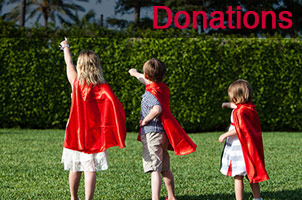 Support kids everywhere with your donation to Wear the Cape Kids
